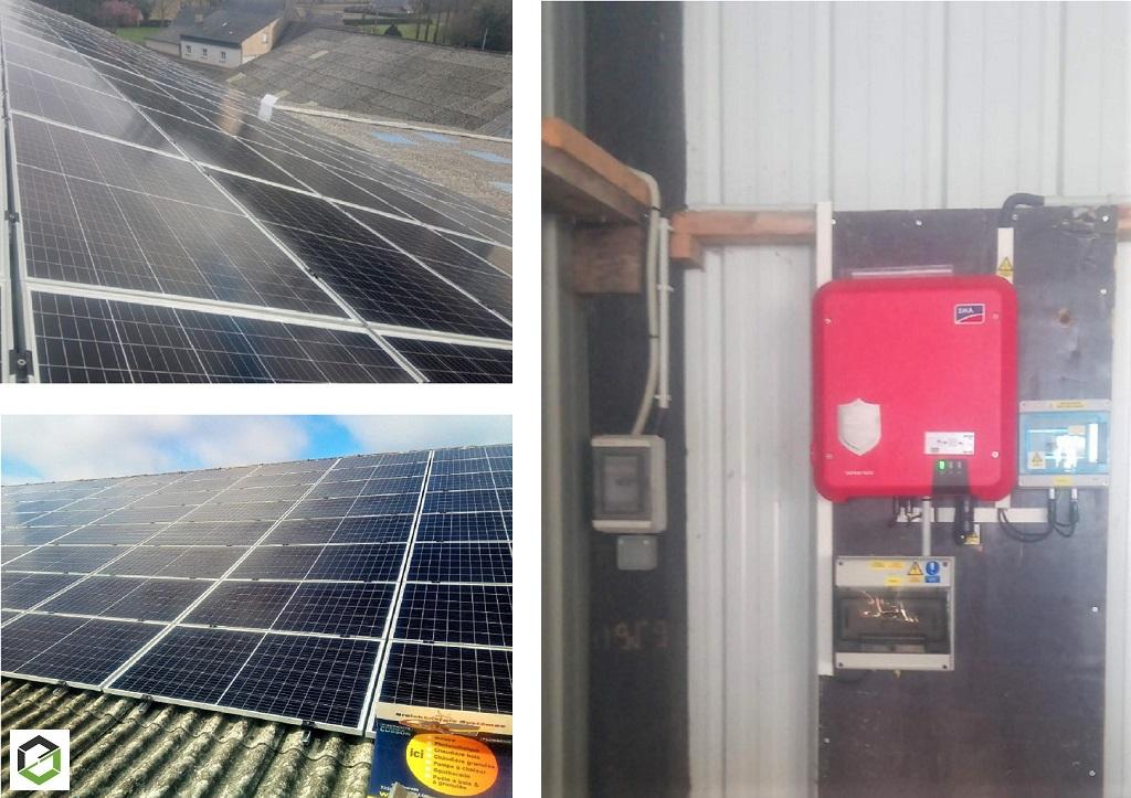 Installation photovoltaïque 50 Kwc - Batiment Agricole - Autoconsommation - PRO