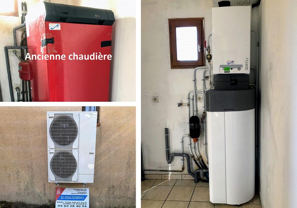 Installation Pompe à chaleur Oertli-Gers (32)