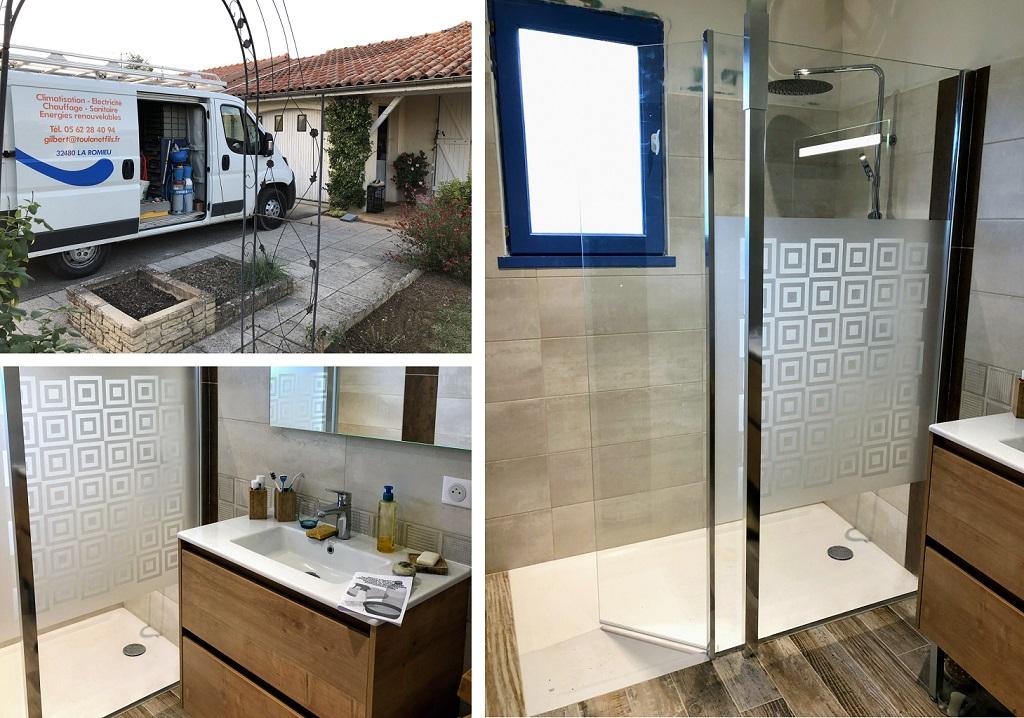 Rénovation salle de bains près d'Agen-Lot et Garonne (47)