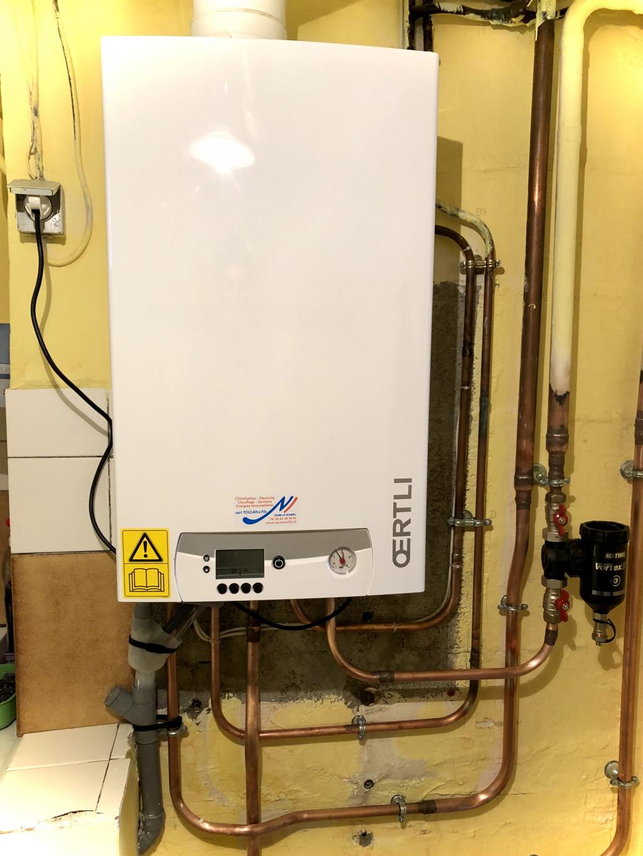 Remplacement chaudière gaz condensation - artisan RGE