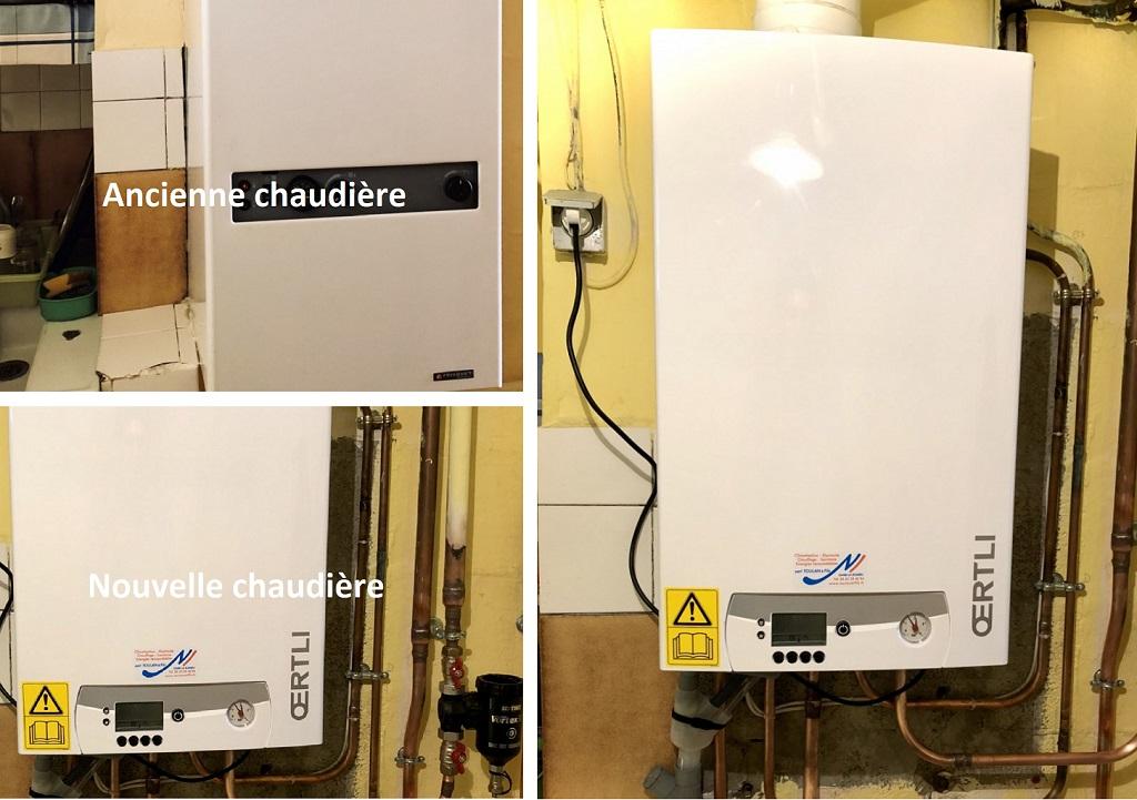 Remplacement chaudière gaz condensation - artisan RGE-Gers (32)