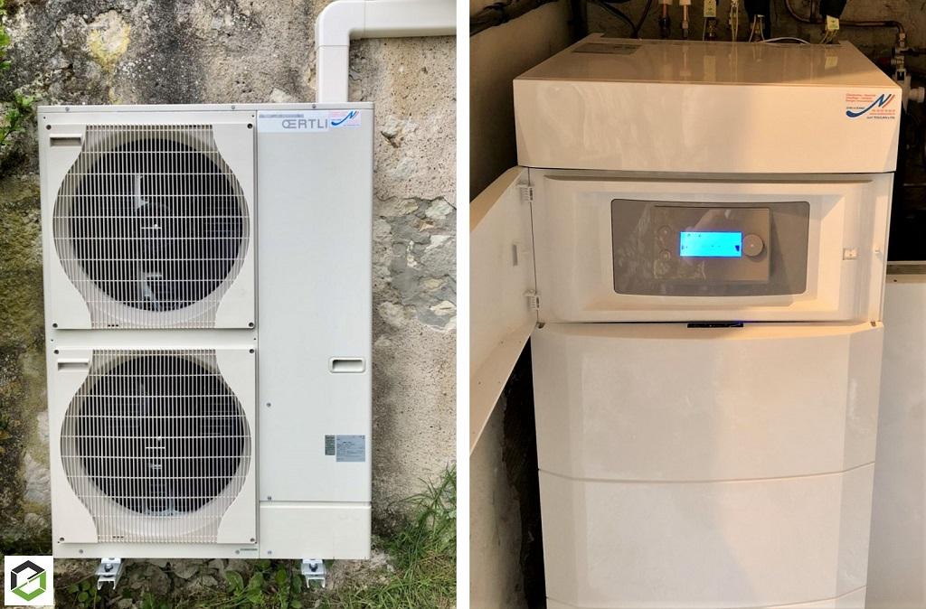 Installation pompe à chaleur - entreprise RGE-Gers (32)