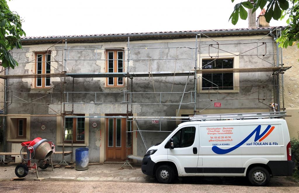 Rénovation complète d'une maison - entreprise RGE