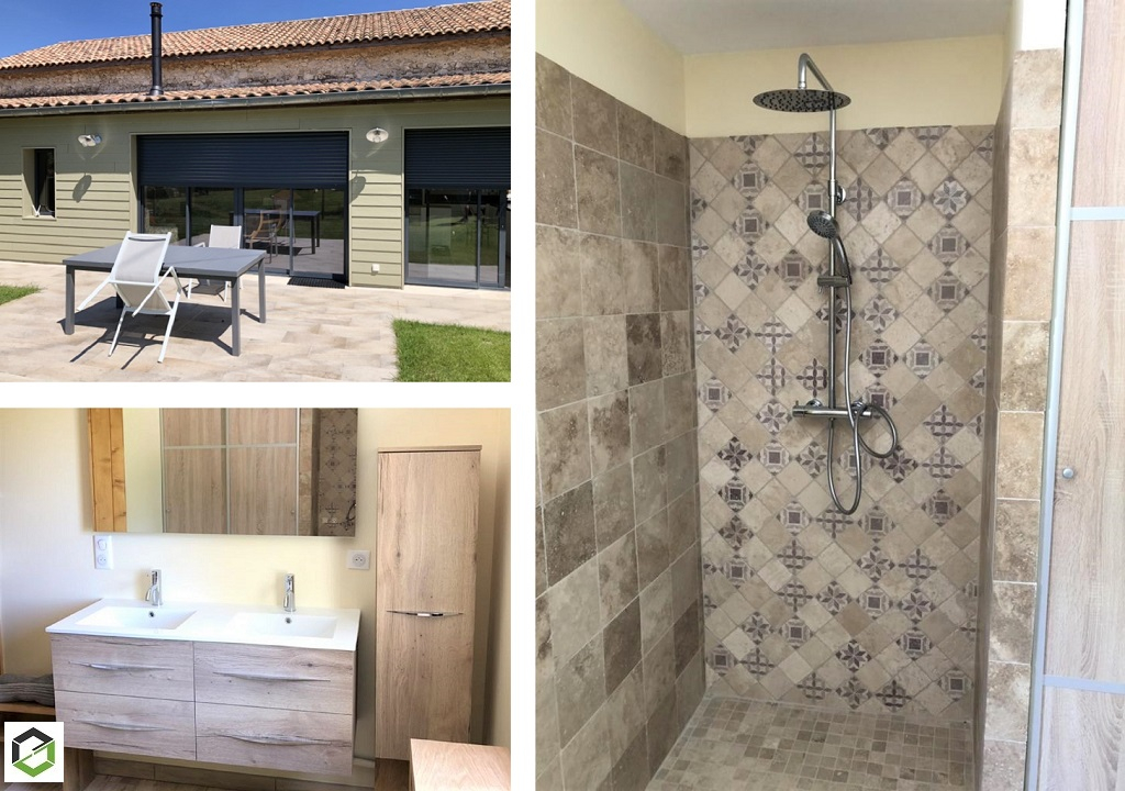 Création d'une salle de bain -Gers (32)