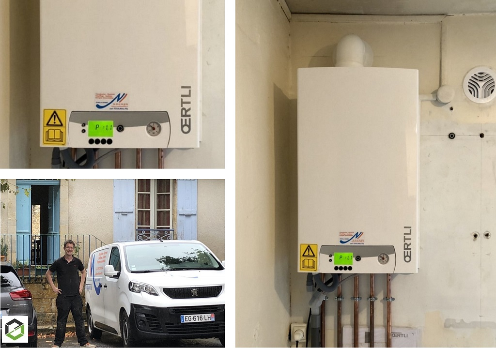 Remplacement / installation chaudière gaz condensation RGE-Gers (32)