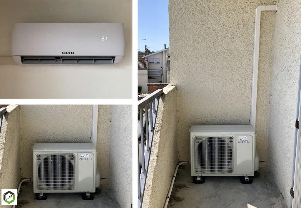 Installation climatisation réversible  - Entreprise RGE QualiPac-Lot et Garonne (47)