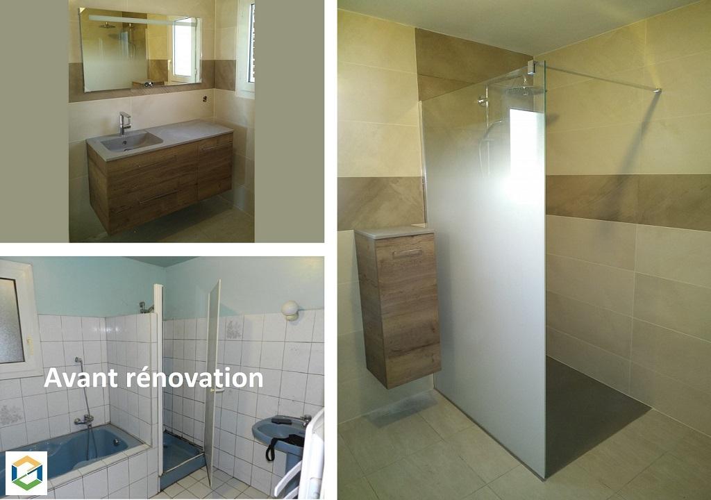 Aménagement / rénovation d'une salle de bain