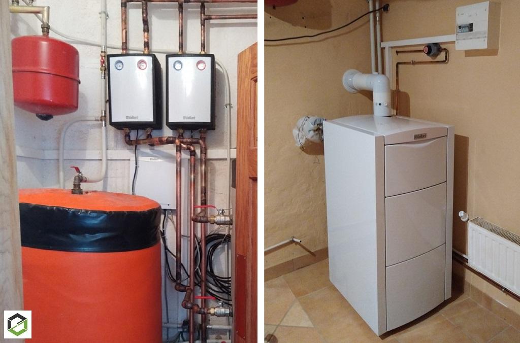 Entreprise RGE Pro Gaz -Pose d'une chaudière gaz à condensation Vaillant EcoVIT Exclusive