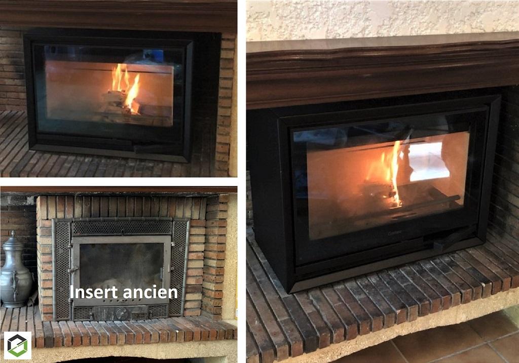Installer un poêle à bois dans une cheminée pour améliorer ses performances