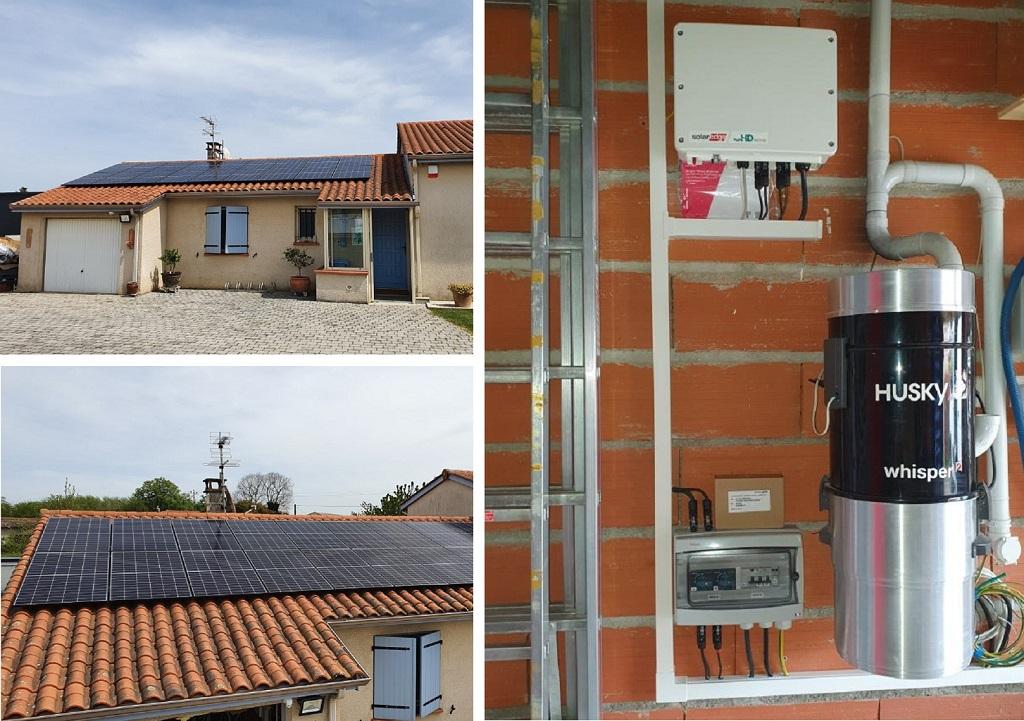 Réalisation d'une installation photovltaïque de 6,5 kWc