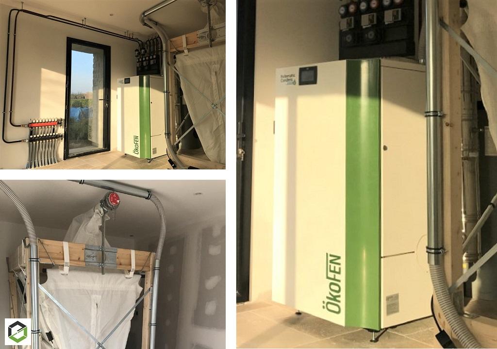 Installateur RGE QualiBois - Installation chaudière granulé de bois pellets OKOFEN