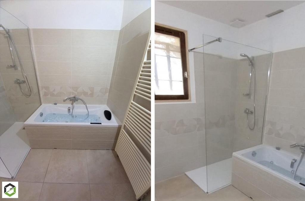 Rénovation complète de salle de bain