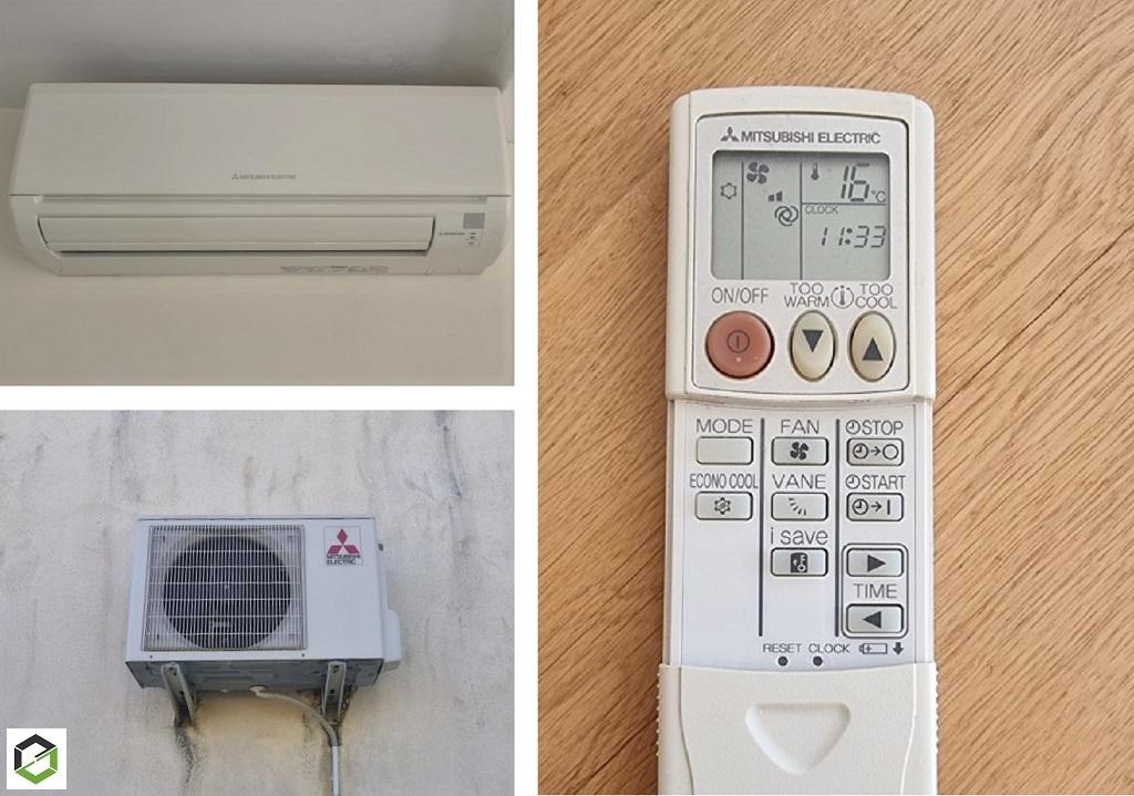 Entretien et nettoyage d'une climatisation mono-split murale MITSUBISHI
