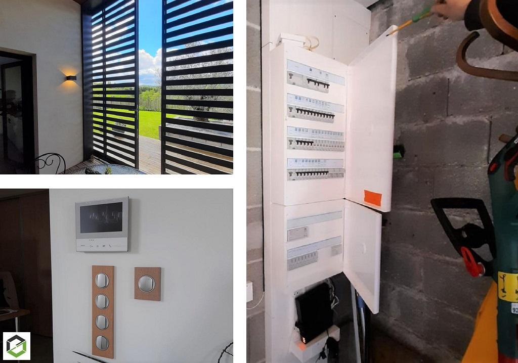 Rénovation complète d'une habitation