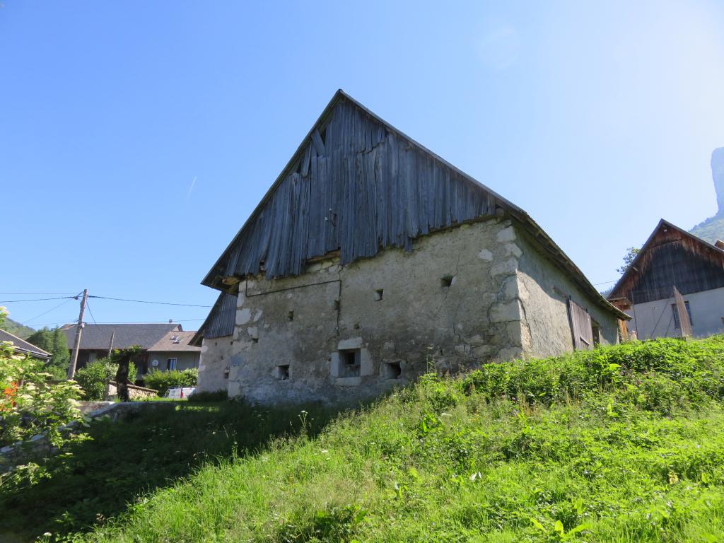 Surélévation d'une grange en Chartreuse (73) à Entremont-Le-Vieux