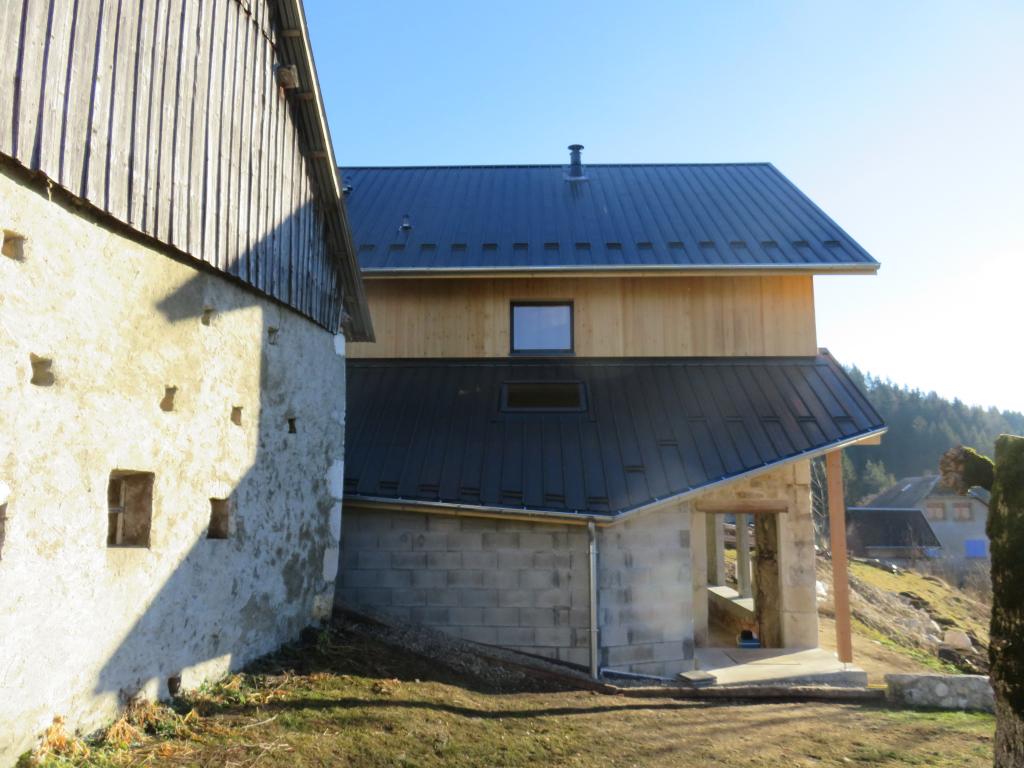 Transformation d'une grange en habitation, Savoie à Entremont-le-vieux (73)