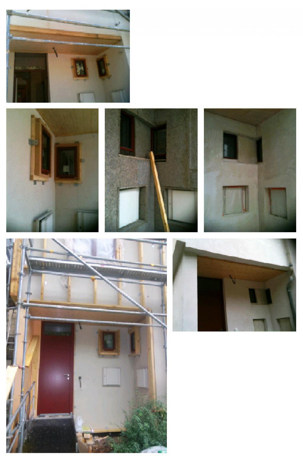 Suivi de chantier - Rénovation thermique d'une maison situé en région Grenobloise (38)