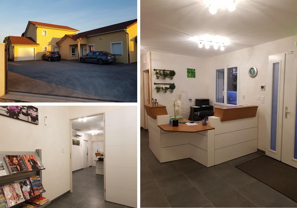 Architecte - Construction d'un cabinet dentaire et maison d'habitation à Villemoirieu en Isère-Isère (38)