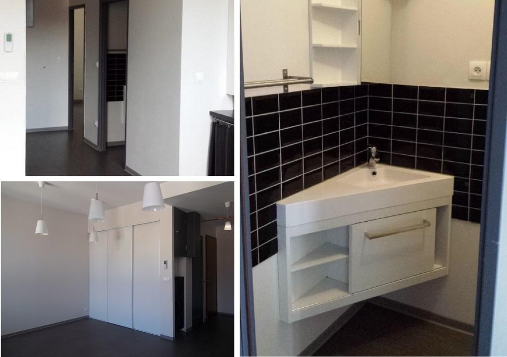 Restructuration complète d'un appartement de type 2-Rhône (69)