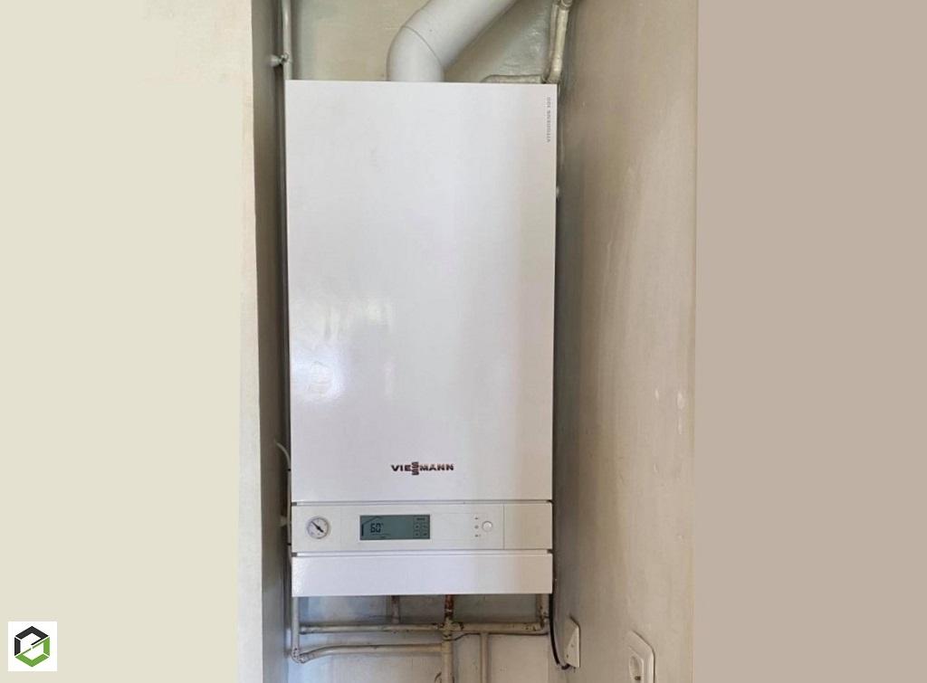 Installation chaudière gaz viessmann