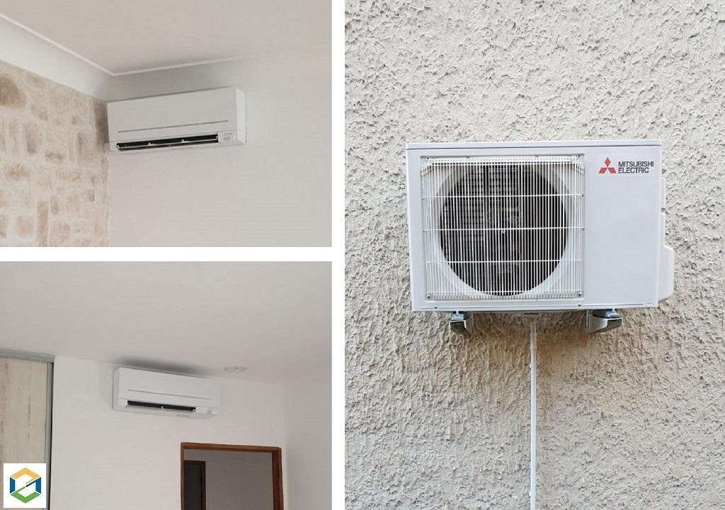 Installation climatisation réversible MITSUBISHI / Installateur Climatisation RGE Qualipac