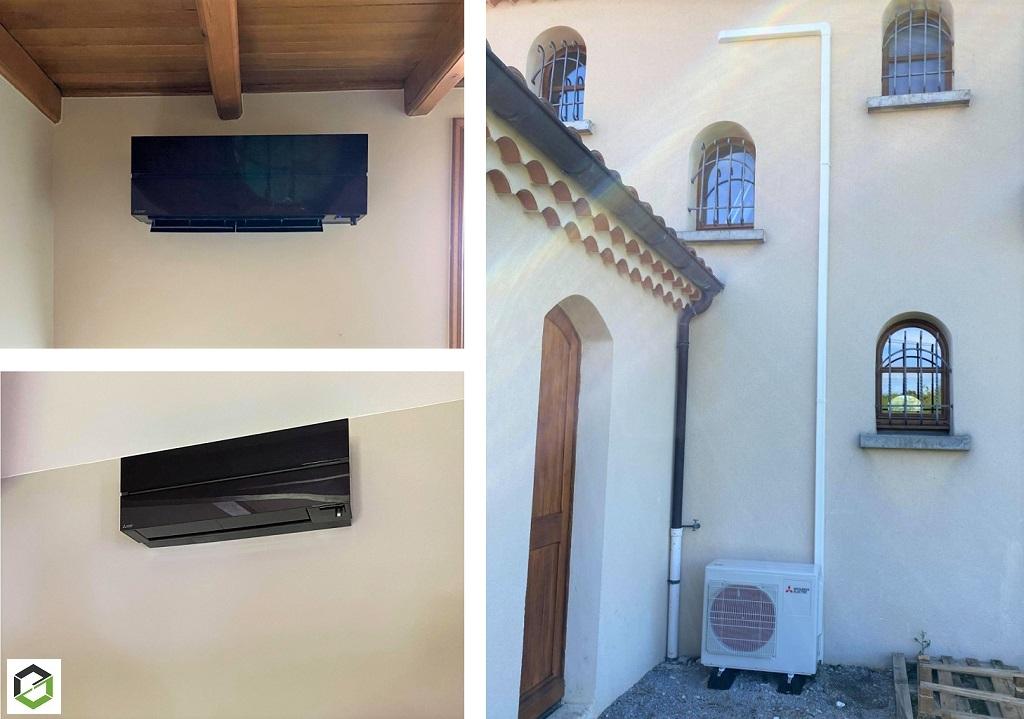 Installateur qualifié pour pose de climatisation réversible - Installateur RGE QUALIPAC - Installateur climatisation Montélimar