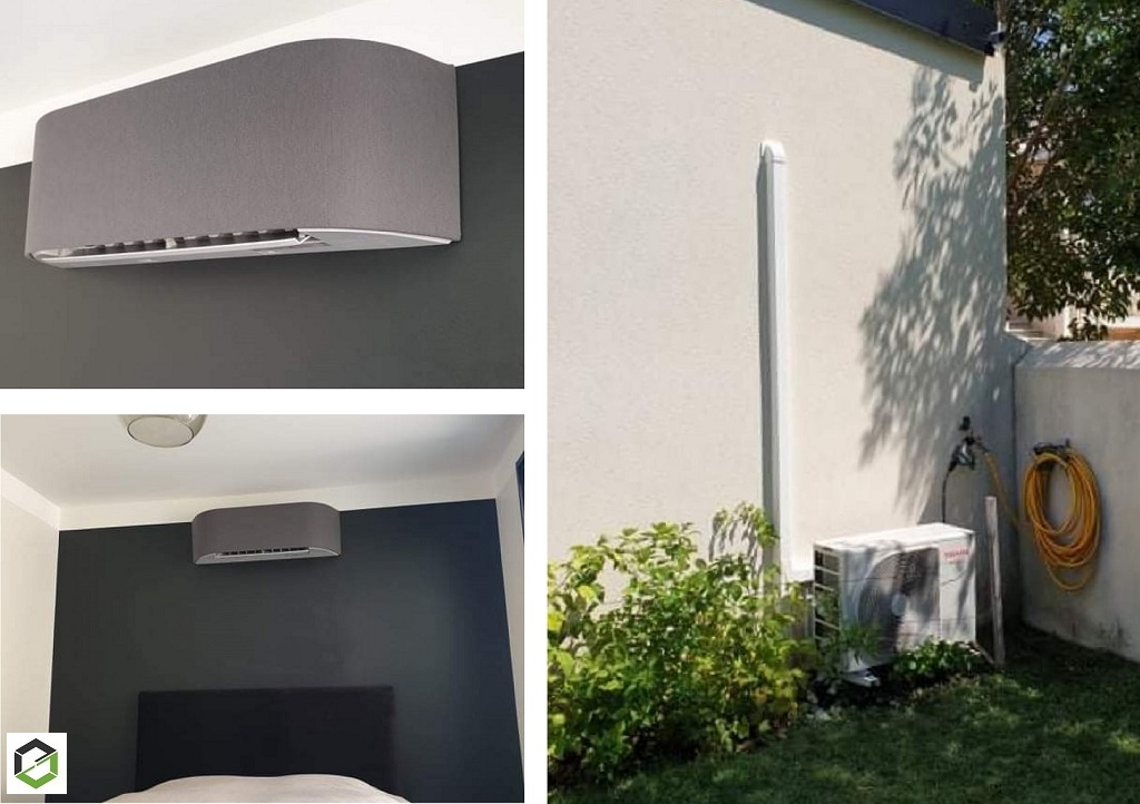 Installation climatisation réversible TOSHIBA - Entreprise RGE QUALIPAC