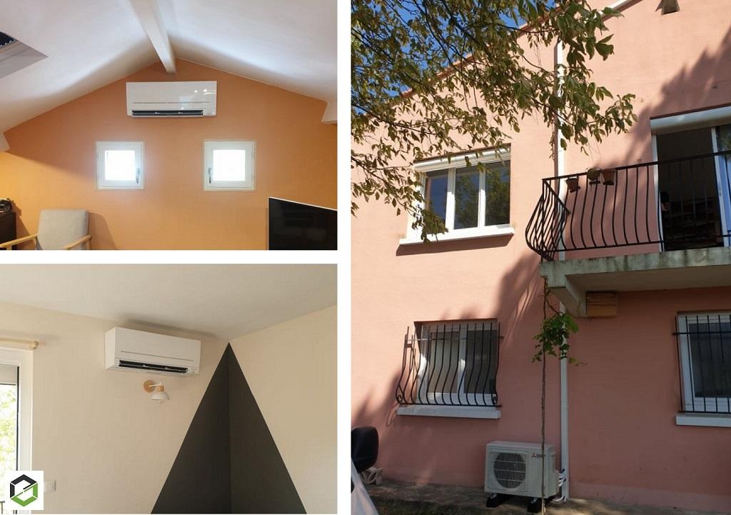 Installation d'une Climatisation réversible (Pompe à Chaleur Air/Air) - Entreprise RGE QUALIPAC