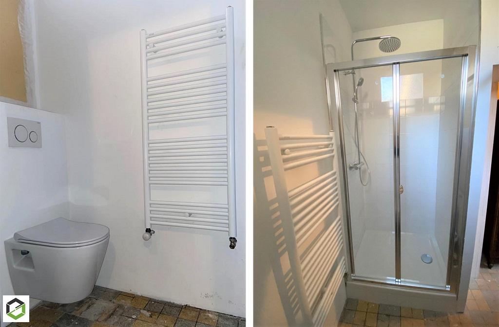 PLOMBIER RGE - Création d'une salle de douche à Cormeilles (27) EURE