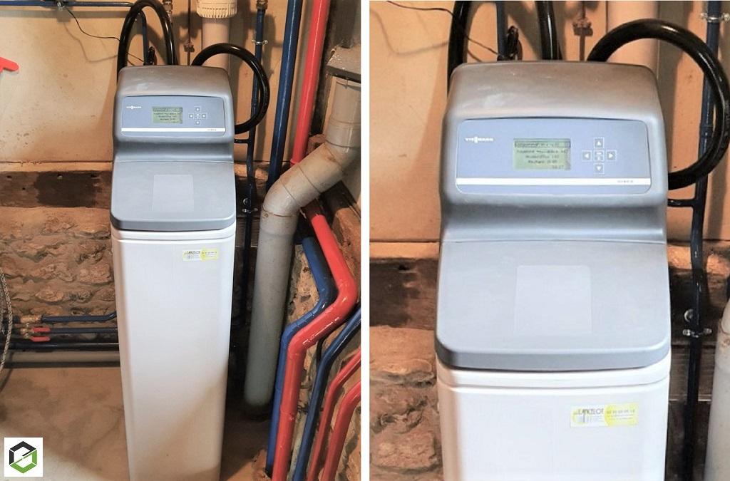 PLOMBIER RGE - Installation d'un adoucisseur d'eau hybride à charbon actif