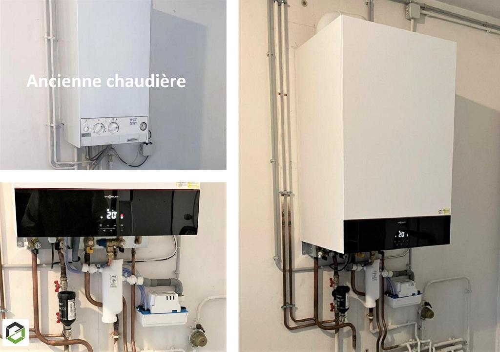 CHAUFFAGISTE RGE - Proactif Viessmann - Remplacement d'une chaudière gaz hors condensation par une chaudière gaz condensation