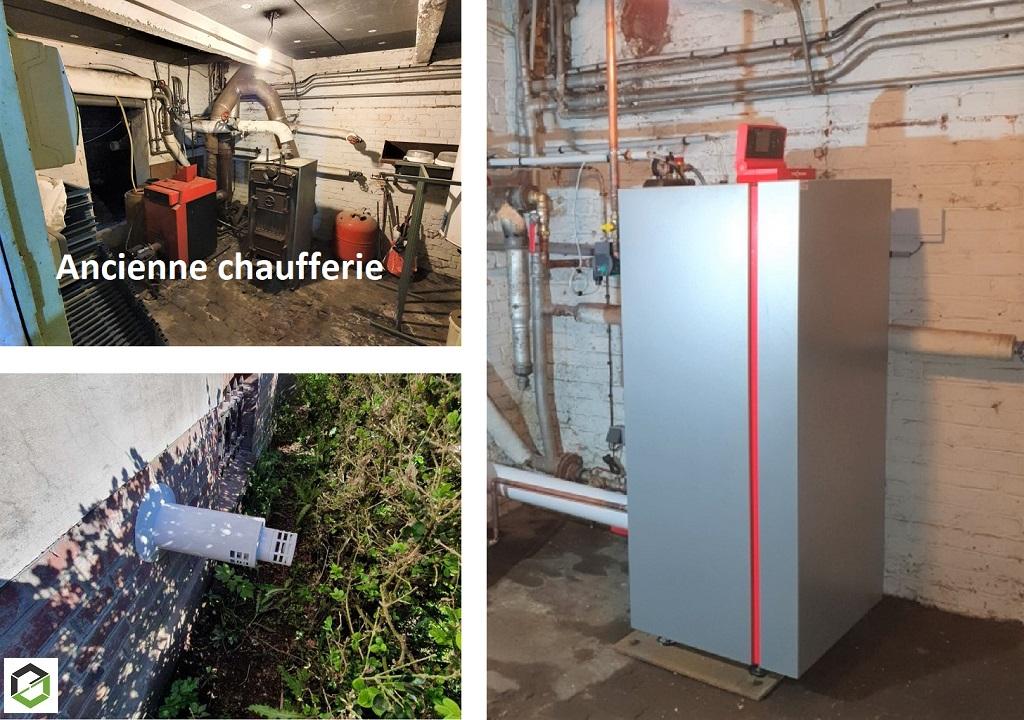 Installation chaudière gaz VIESSMANN VITOCROSSAL