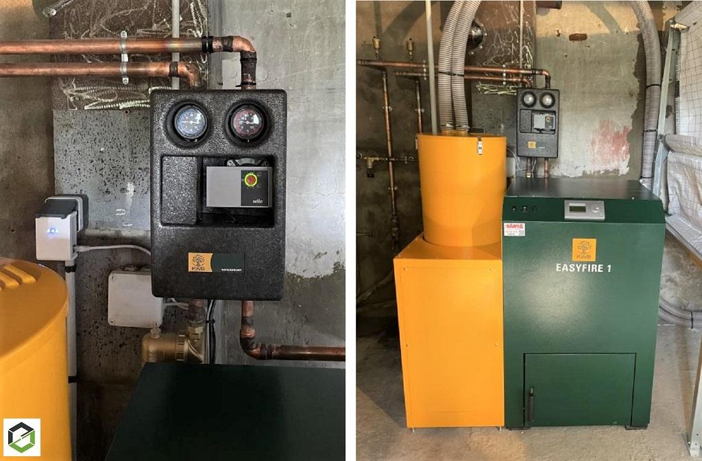 Installation chaudière pellets KWB - Entreprise RGE QualiBois