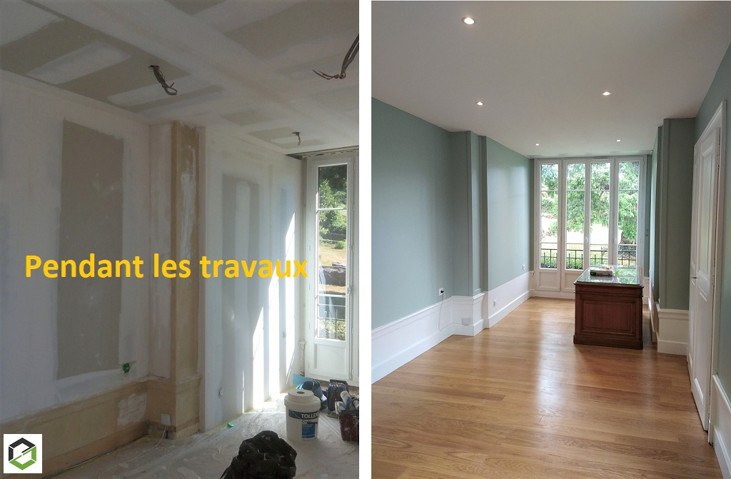 rénovation d'un bureau