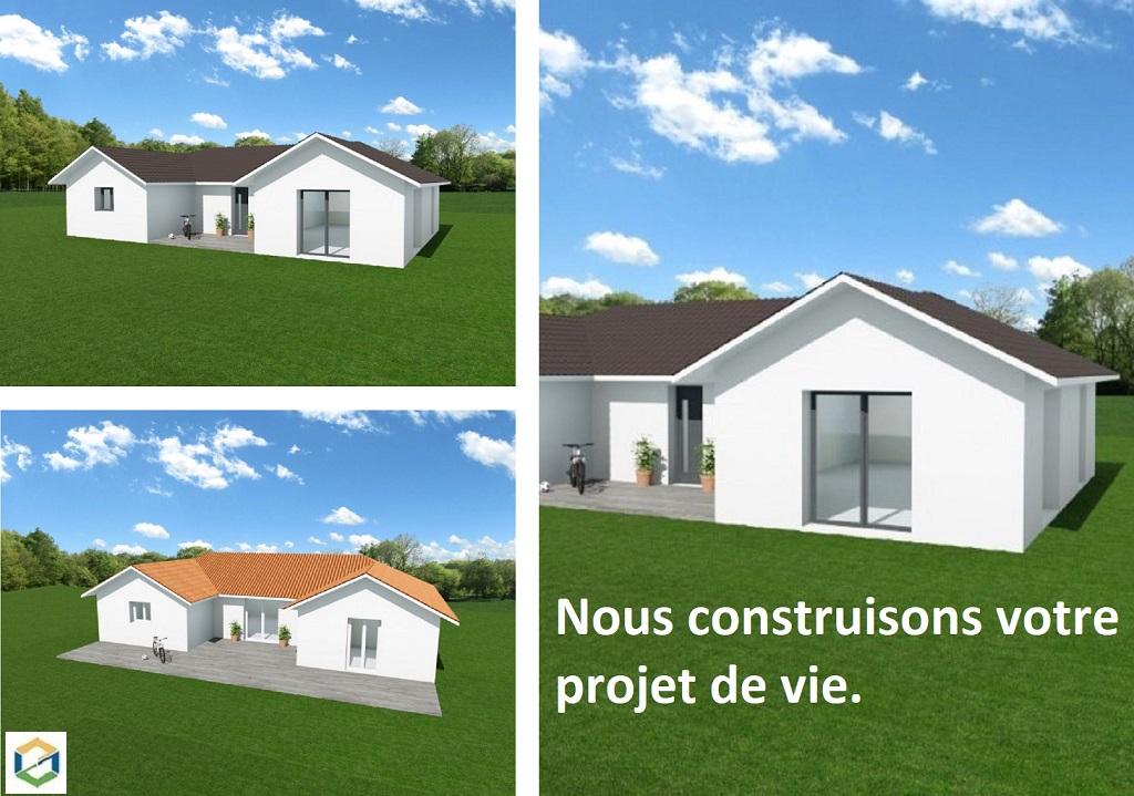 Construction maison traditionnelle projet de type Chartreuse