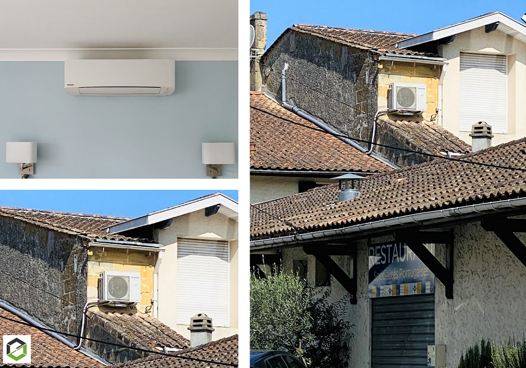 Remplacement d'une ancienne climatisation-Gironde (33)