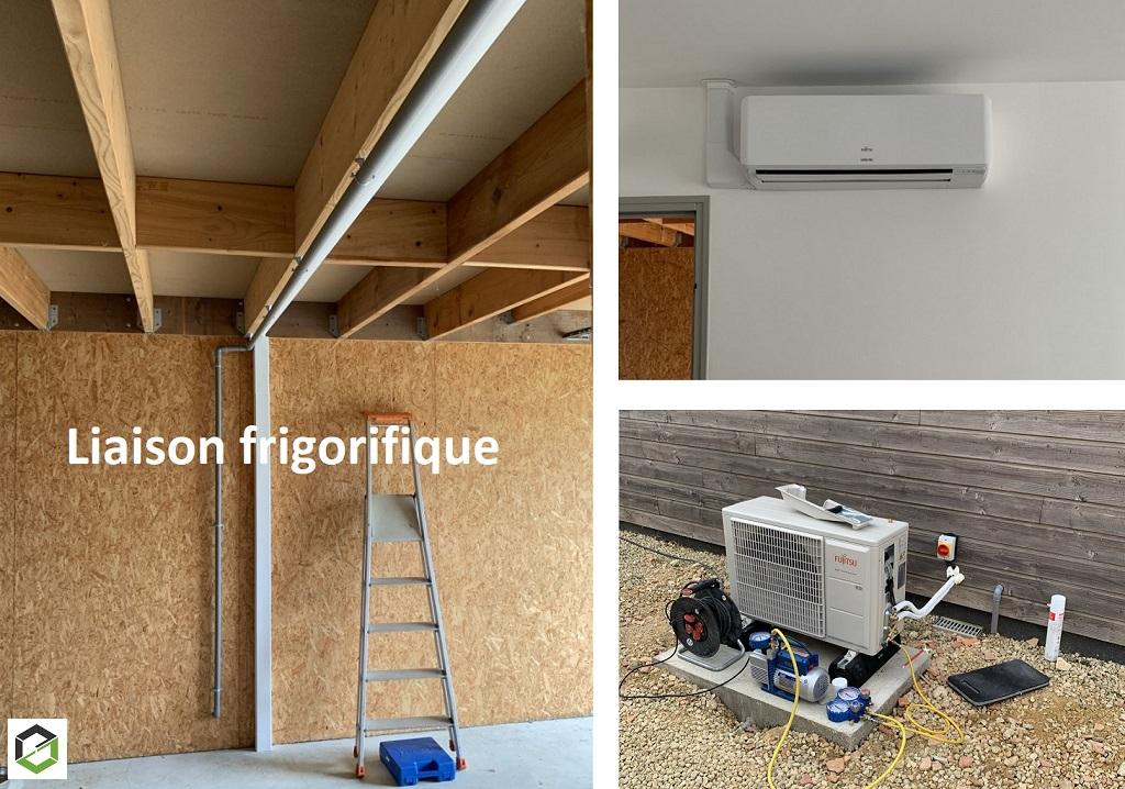 Installation d'une climatisation réversible Atlantic - Artisan RGE QualiPAC