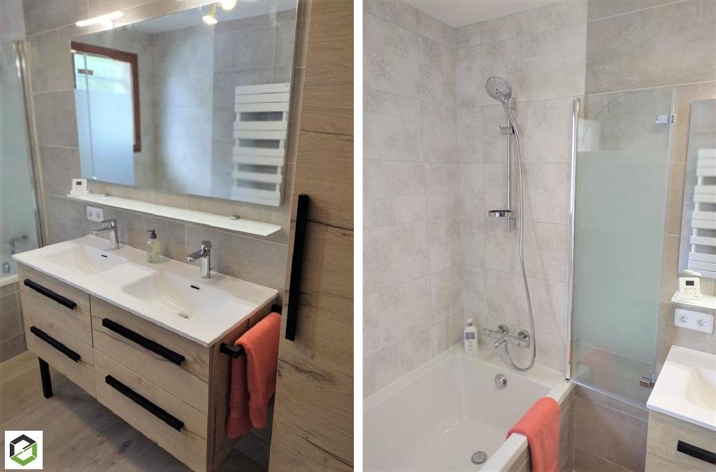 Rénovation d'une salle de bain complète