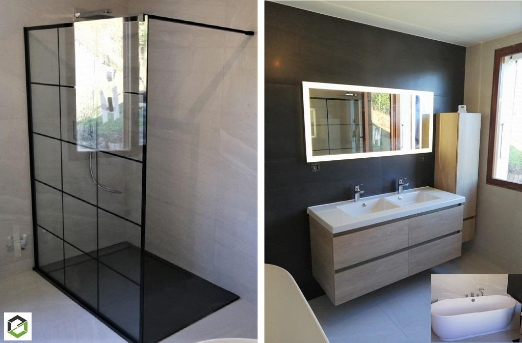 Création d'une salle de bain neuve