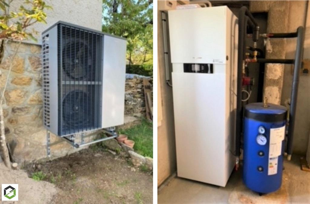 Installation Pompe à chaleur Viessmann - RGE QualiPAC