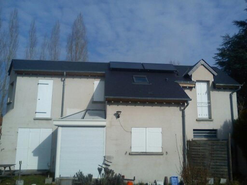 Géothermie Ellios Industries et solaire à Ingré - 45 Loiret