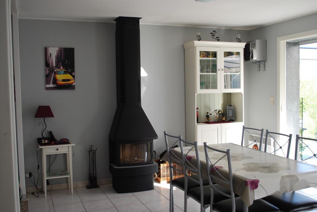 POÊLE A BOIS CONTURA 450-Loiret (45)