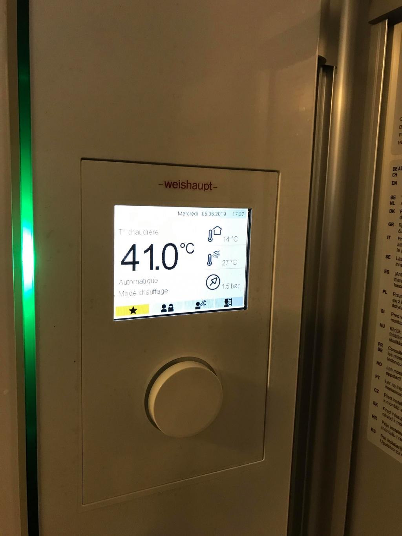 Chaudière à condensation gaz THPE WEISHAUPT