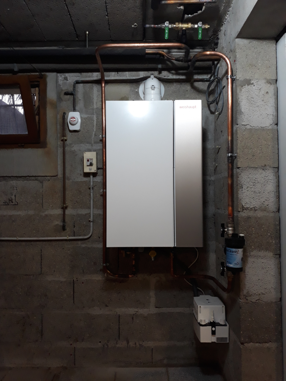 Chaudière gaz à condensation THPE WEISHAUPT