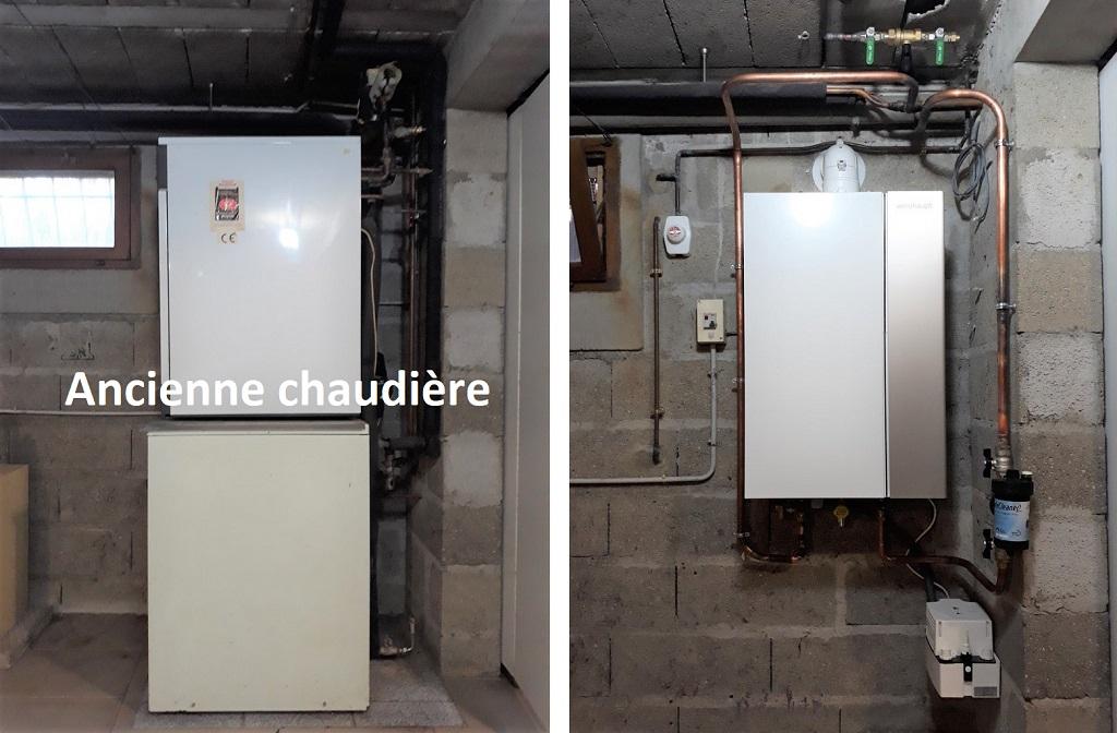 Chaudière gaz à condensation THPE WEISHAUPT-Loiret (45)