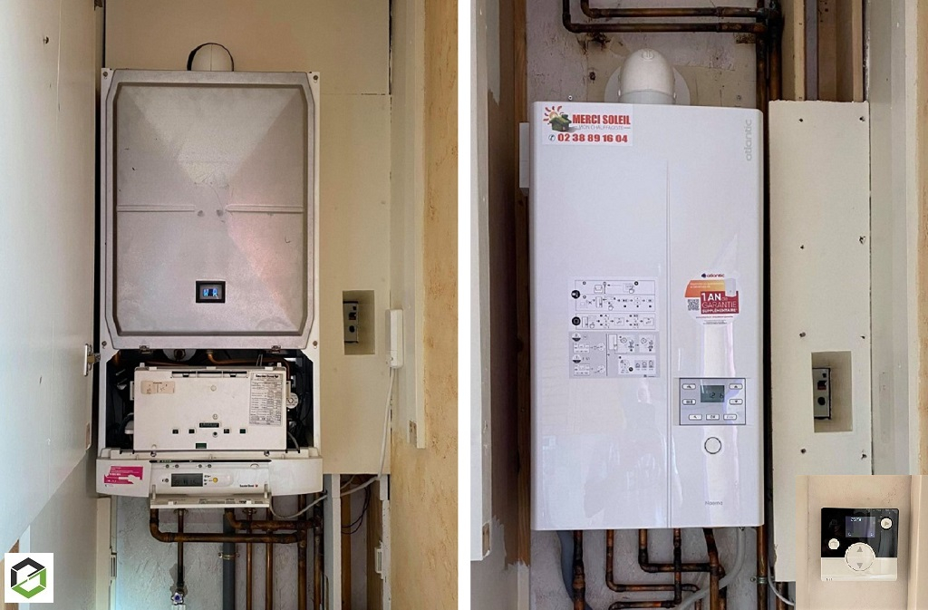 Installation de chaudière gaz HPE ATLANTIC - INSTALLATEUR QUALIBAT RGE