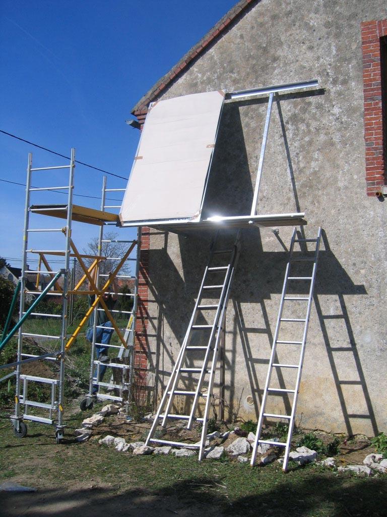 Système solaire  Sonnenkraft à Lombreuil - 45 Loiret-Loiret (45)