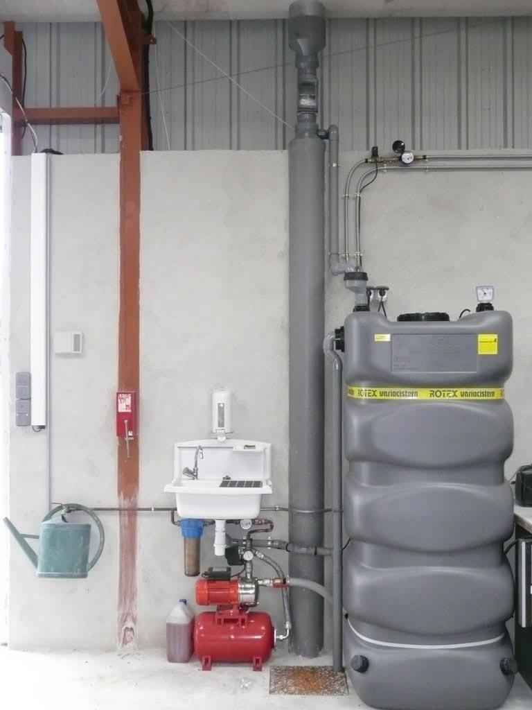 Récupération eau de pluie Rotex à Corquilleroy - 45 Loiret-Loiret (45)