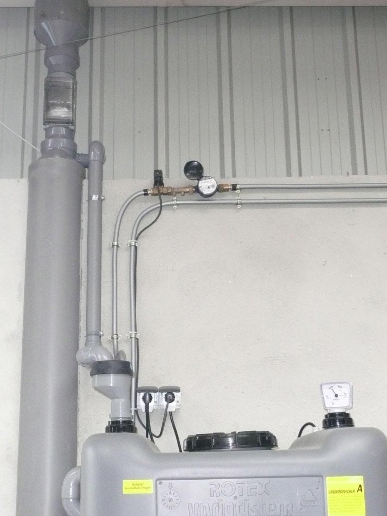 Récupération eau de pluie Rotex à Corquilleroy - 45 Loiret