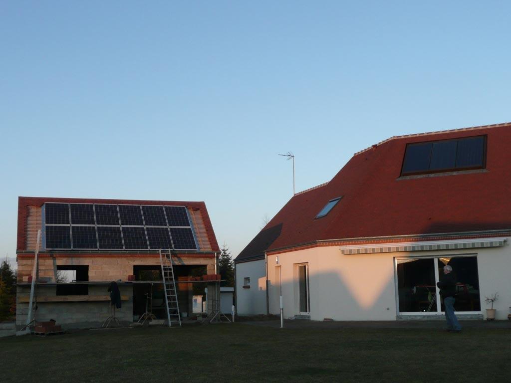Système photovoltaïque à Chenault - 45 Loiret-Loiret (45)